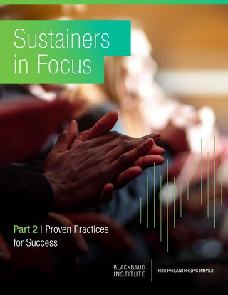Sustainers in Focus: Part 2