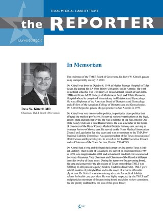 The Reporter July-August 2010