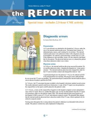 The Reporter Volume 6 2011