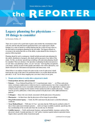 The Reporter Volume 1 2013