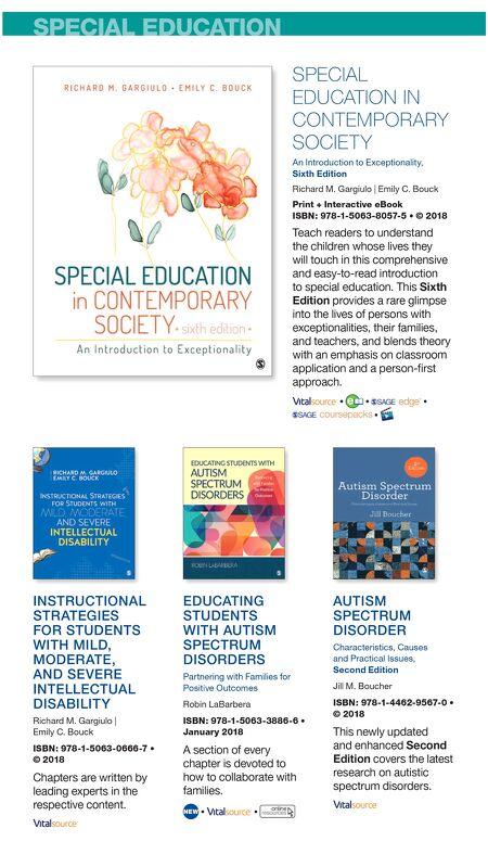 Sage Education Spring 2018