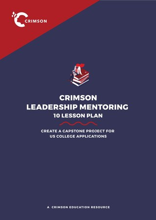 Crimson Leadership Mentoring 10 Lesson Plan