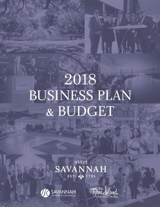 Visit Savannah 2018 Business Plan