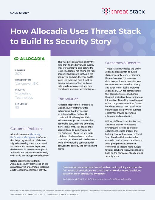Allocadia Case Study