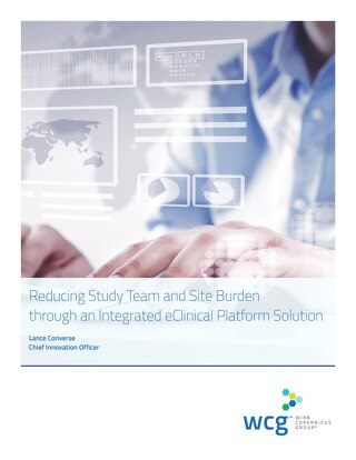 Reducing Study Team and Site Burden through an Integrated eClinical Platform Solution