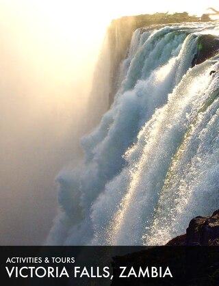 Victoria Falls activities Zambia 2019
