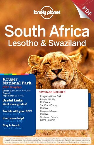 travel guide Kruger National Park