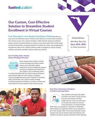 Student Enrollment Portal Flyer (FL)