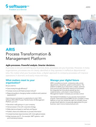 Process Transformation & Management
