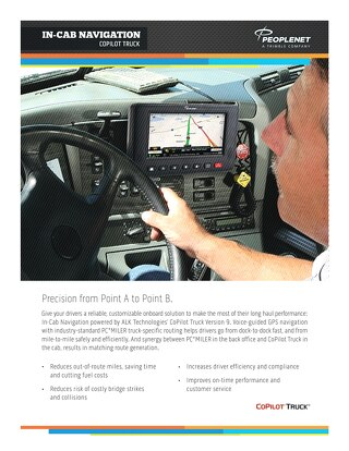 ALK CoPilot In-Cab Navigation