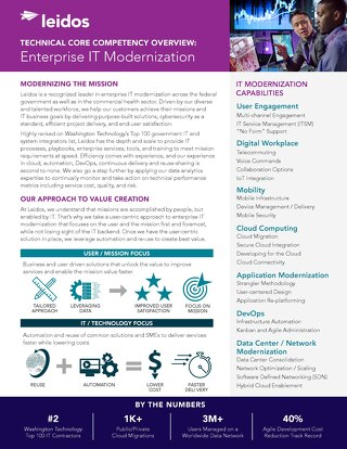 Enterprise IT Overview