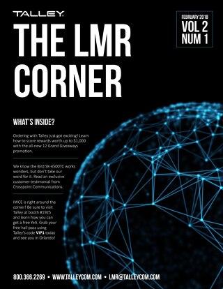 February 2018 - Talley LMR Corner