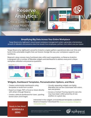 Agilquest Analytics Datasheet