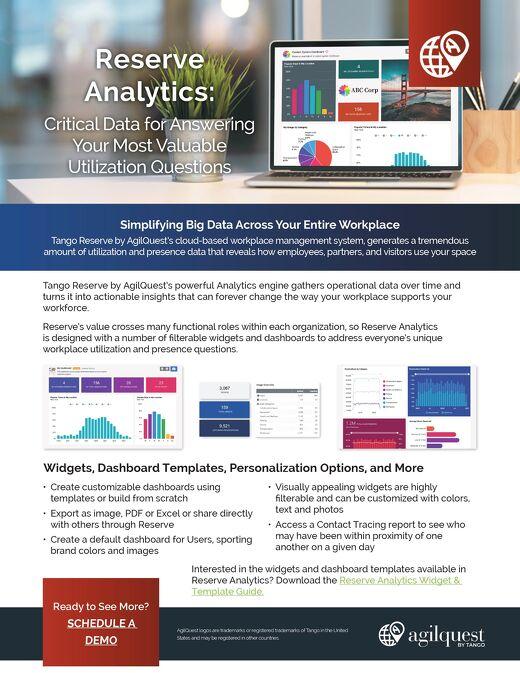 Agilquest Analytics Datasheet
