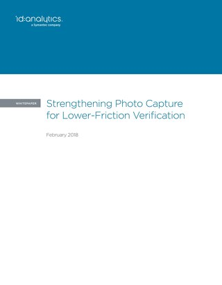 Strengthening Photo Capture for Lower-Friction Authentication