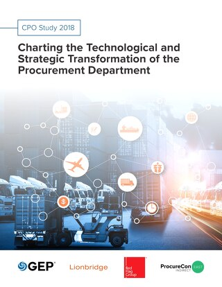Charting the technological and strategic transformation of the Procurement department