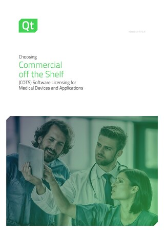 White paper: Medical Choosing Commercial Off the Shelf (COTS)