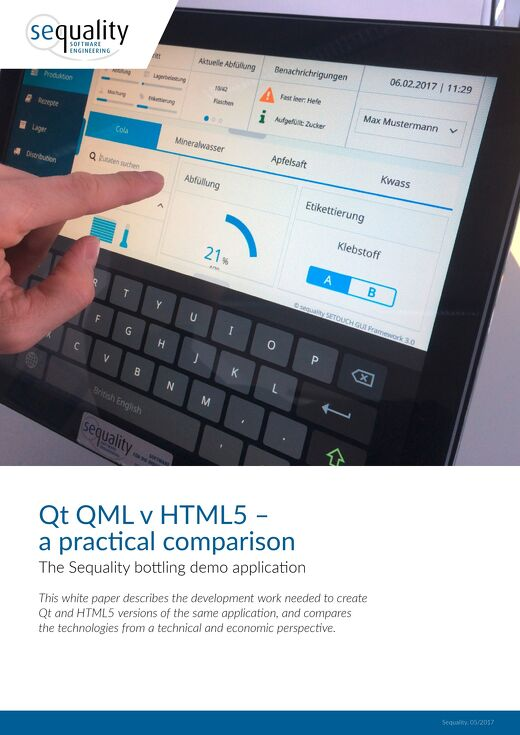 White paper: Qt vs HTML5 #1 Practical Comparison