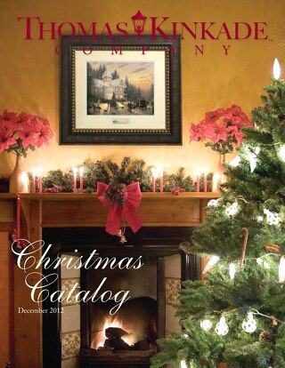 2012 Thomas Kinkade Christmas Catalog (a)