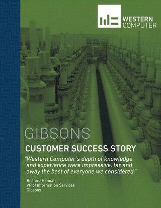 Customer Success Story: Gibsons