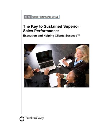 Key to Sustained Superior Sales Performance
