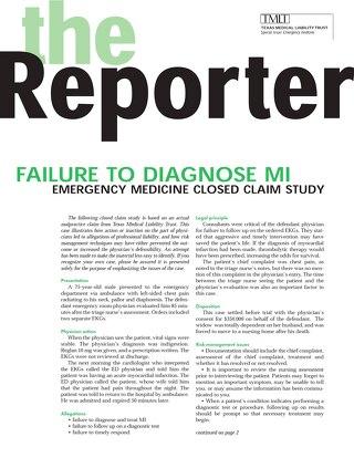 Reporter 2002 Emergency Medicine