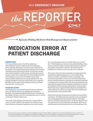 Reporter 2016 Emergency Medicine