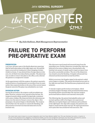 Reporter 2016 General Surgery