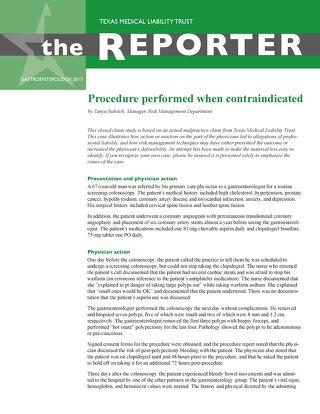 Reporter 2013 Gastroenterology