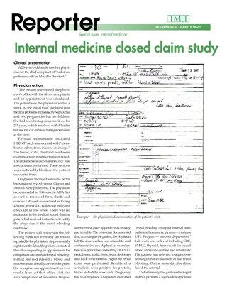 Reporter 2000 Internal Medicine