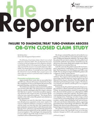 Reporter 2006 Obstetrics-Gynecology