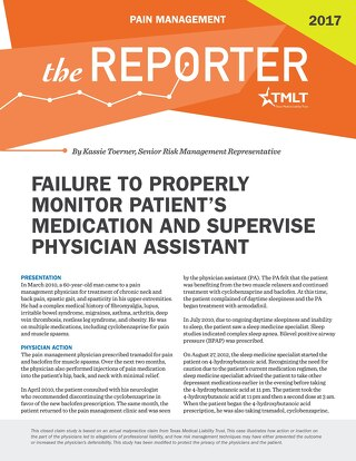 Reporter 2017 Pain Management