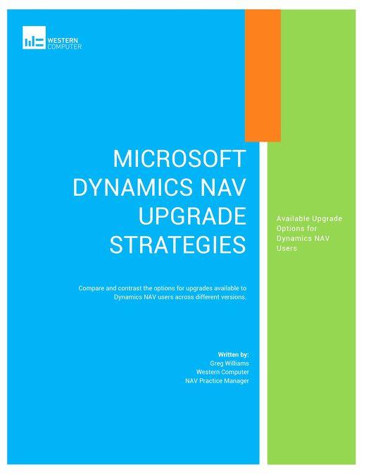 Microsoft Dynamics NAV Upgrade Strategies