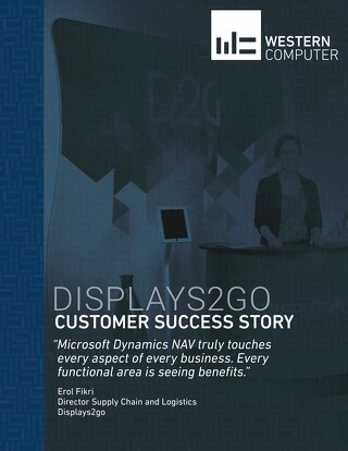 Customer Success Story: Displays2go