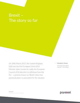 Brexit - the story so far