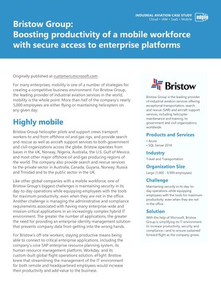 Boosting productivity mobile workforce with secure enterprise access
