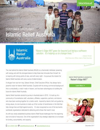 Islamic Relief & NXT