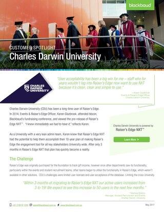 Charles Darwin University & NXT