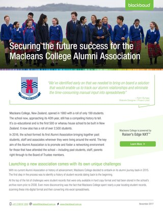 Macleans College & NXT
