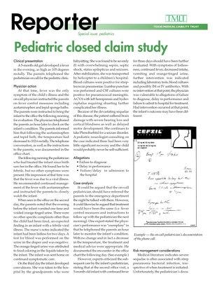 Reporter 2000 Pediatrics