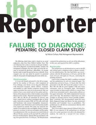 Reporter 2002 Pediatrics