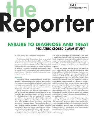 Reporter 2003 Pediatrics