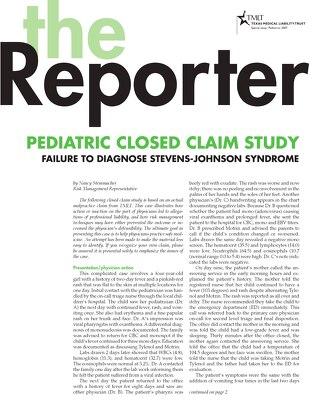 Reporter 2007 Pediatrics