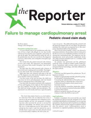 Reporter 2008 Pediatrics