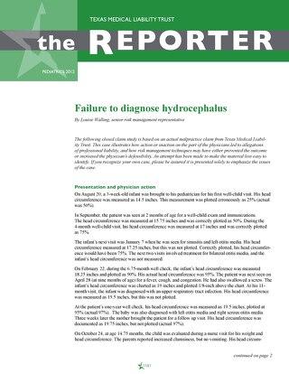Reporter 2012 Pediatrics