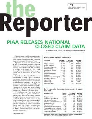 Reporter 2002 Primary Care