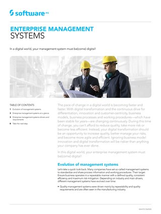 All about enterprise management systems