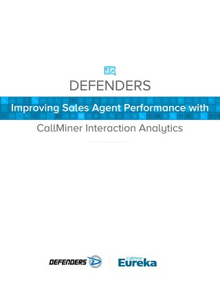 Defenders Improves Sales Agent Performance