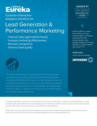 Lead Generation & Performance Marketing