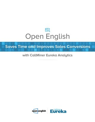 Open English Saves Time and Improves Sales Conversions